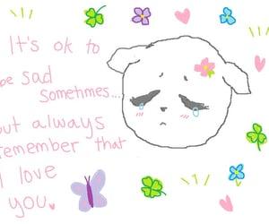 cute, sad, and soft image