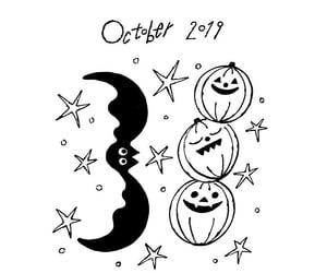 art, autumn, and black & white image