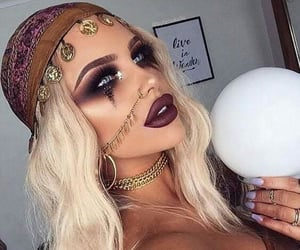 gypsy, Halloween, and gitana image