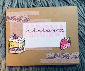 aesthetic, diy, and letters image
