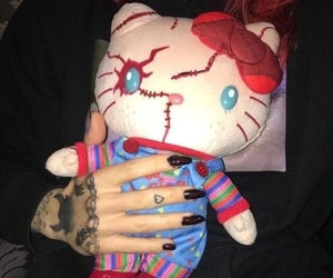 hello kitty and grunge image