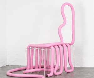 art, chairs, and furniture image