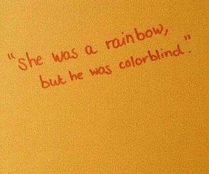 quotes, rainbow, and love image