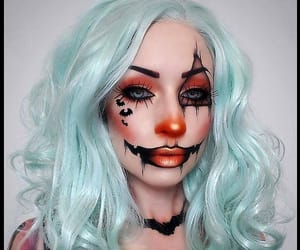 Halloween, beauty, and makeup image