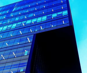 architecture, blue, and building image