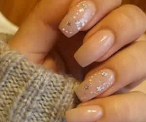 gel, gel nails, and nails image