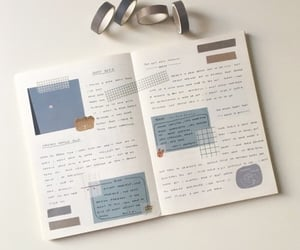 aesthetic, journal, and korean image