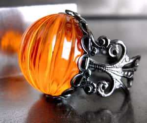 autumn, pumpkin, and halloween ring image