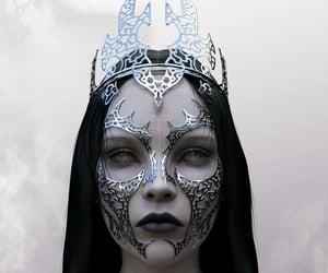 dark fantasy, gothic, and gothic fantasy image