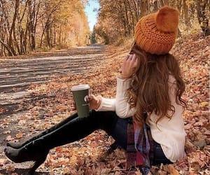 осень, девушка, and сохраненки image
