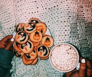 autumn, Halloween, and Cookies image