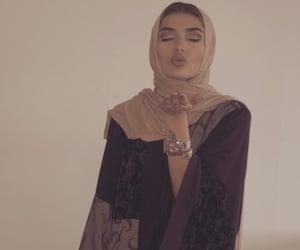 arabic, hijab, and islam image