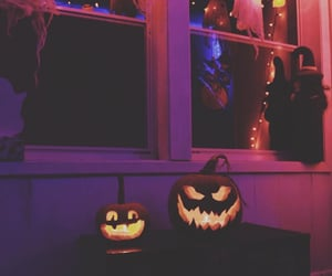 Halloween, pumpkin, and spooky image