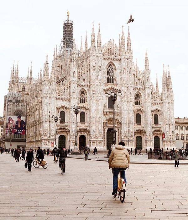church, fashion, and italy image