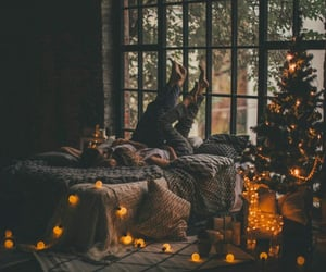christmas, cold, and cozy image