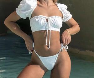 bikini, body goal, and fashion image