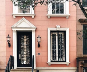 pink, architecture, and street image