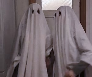costume, creepy, and ghost image