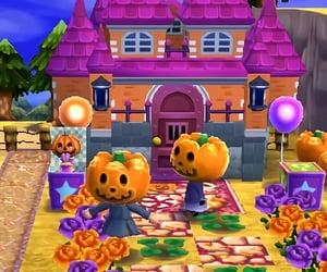animal crossing, autumn, and Halloween image