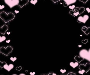 frame, overlay, and pink image