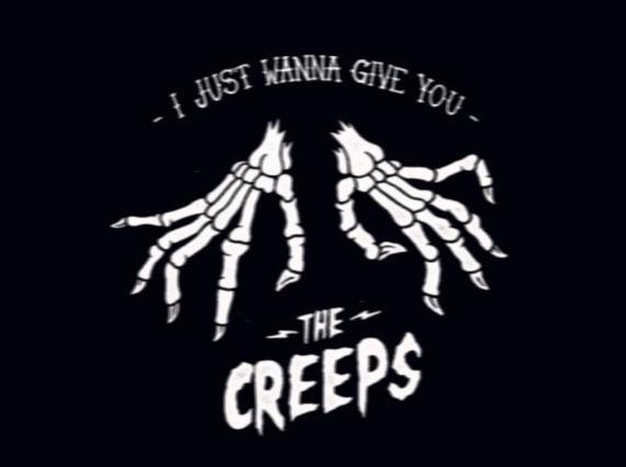 Halloween, creepy, and skeleton image