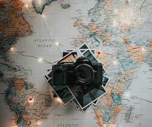 light, travel, and camera image