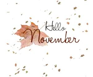 hello, new, and november image