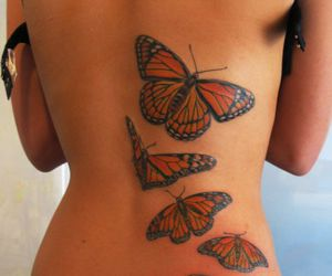 amazing, cute, and back tattoo image