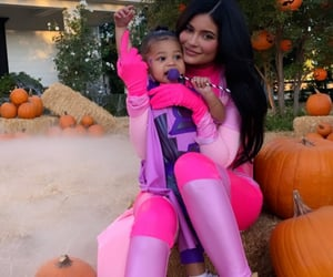 kylie jenner, Halloween, and stormi image