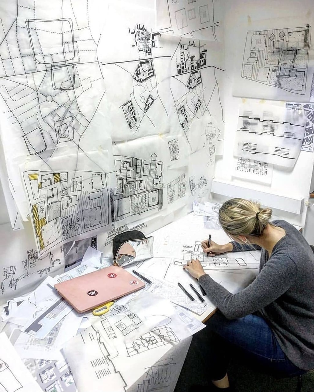 architect, architecture, and college image