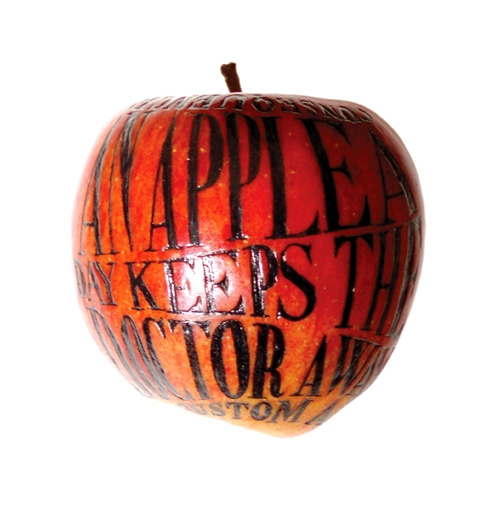 apple, text, and typography image