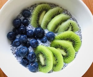 blueberries, breakfast, and FRUiTS image