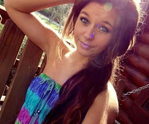beautiful, brown hair, and brunette image
