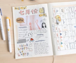 diary, bujo, and journal image