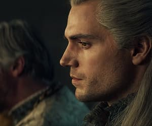 gif, geralt of rivia, and the witcher image