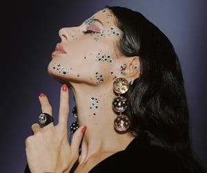 black, fashion, and glitter image