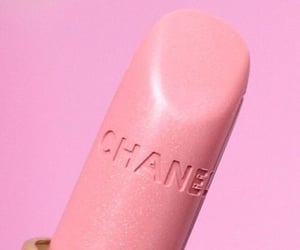 pink, chanel, and lipstick image