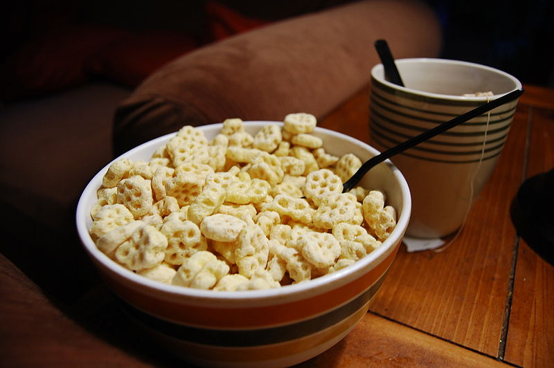 cereal, honeycomb, and cute image