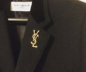 Yves Saint Laurent, aesthetic, and black image