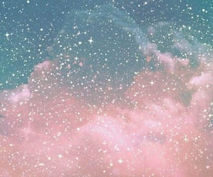 wallpaper, stars, and pink image