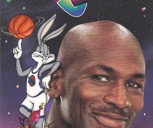 space jam, Basketball, and bugs bunny image