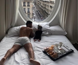 love, paris, and baby image