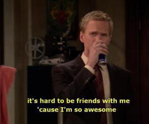 awesome, text, and barney image