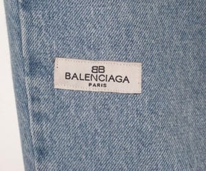 Balenciaga, fashion, and jeans image