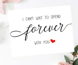 etsy, romantic, and forever with you image
