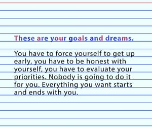 college, dreams, and goals image