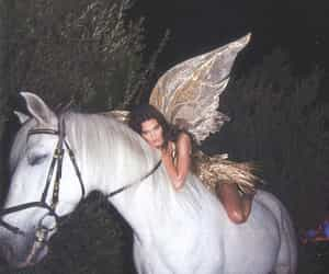 kendall jenner, Halloween, and horse image