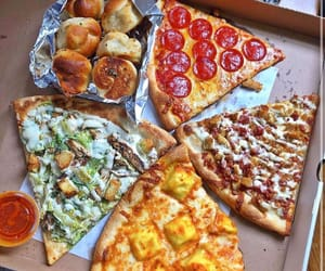 dip, food, and pizza image