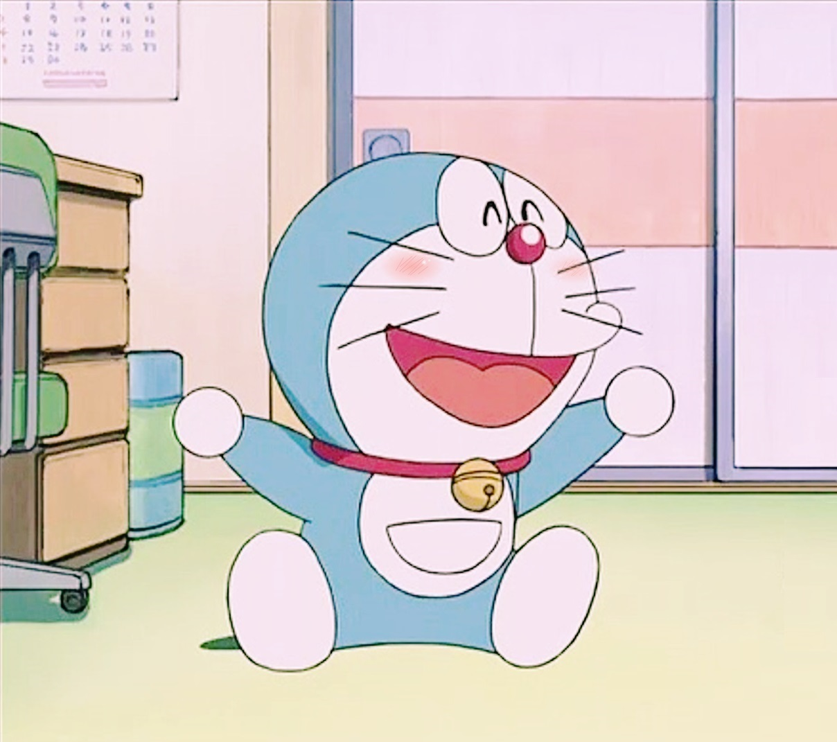 Aesthetic Foto Mirror Doraemon Allwallpaper