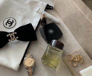 cosmetics, brand, and chanel image